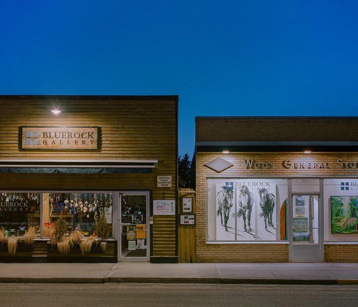Bluerock Gallery at Dusk