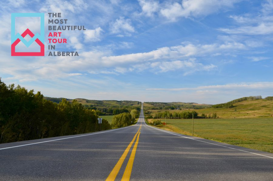 Most Beautiful Art Tour in Alberta: On the Road