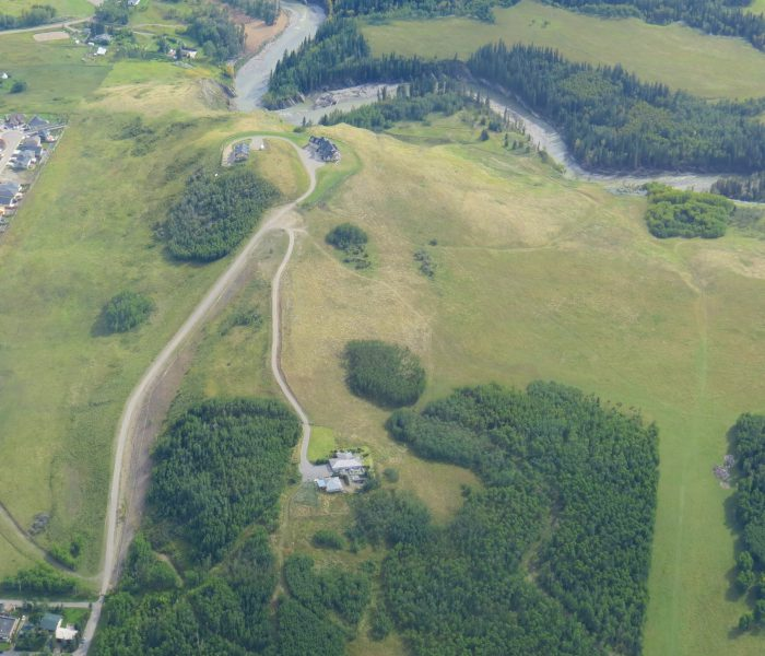 Aerial View Kristoferson Studio